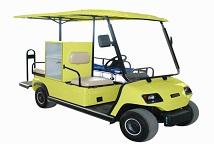 Vermietung Spezielle Golfcarts, Gatoren, Anhänger und Branding